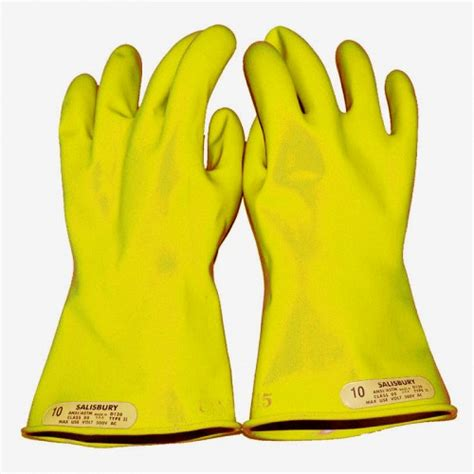 high voltage glove testing companies salisbury e014y yellow insulated electrical gloves class 0