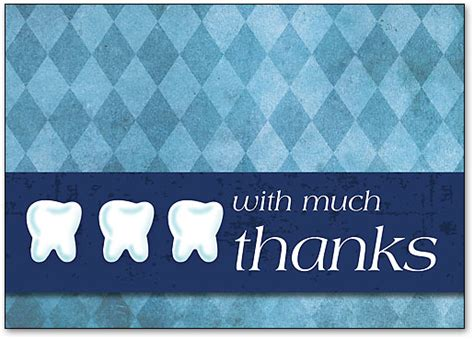 thank you cards templates with teeth dental folding welcome cards inspire patient loyalty