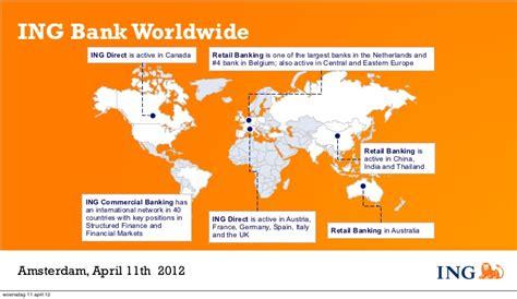 ing banc ing bank worldwide ing direct