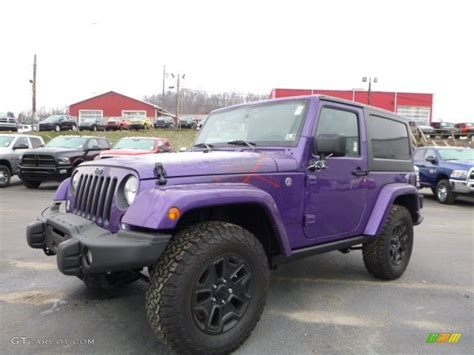 dark purple jeep 2016 xtreme purple pearl jeep wrangler sahara 4x4