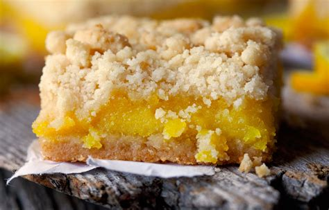 lemon bar topping lemon pucker bars