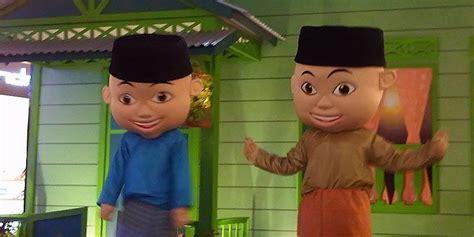 download film upin dan ipin episode terbaru 2013 upin ipin meriahkan ramadhan di indonesia kompas com