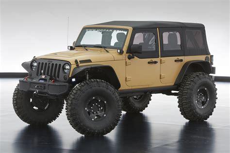 future jeep wrangler concepts jeep reveals annual moab easter jeep safari concepts