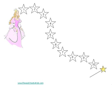 printable star reward chart free printable star charts for kids
