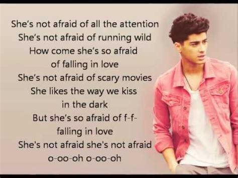 not afraid testo she s not afraid one direction musica e