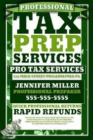 tax preparation flyers templates customizable design templates for tax preperation