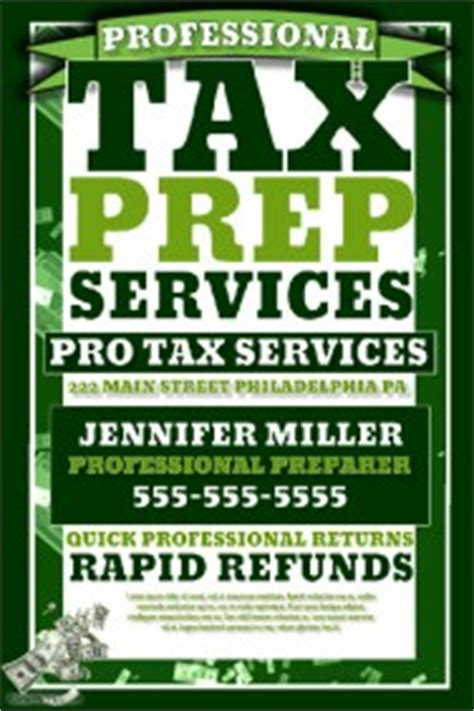 Small Business Flyer Templates Postermywall Free Tax Preparation Flyers Templates