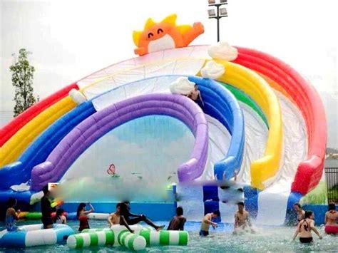 Mainan Water Geme raksasa tiup air mainan permainan air raksasa