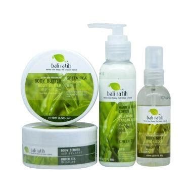 Jual Masker Wajah Bali Ratih jual bali ratih green tea paket scrub butter lotion