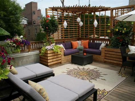 kronleuchter für draußen moderne terrasse idee