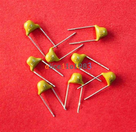 1uf chip capacitor 50pcs 1uf 105 50v monolithic ceramic chip capacitor new ebay