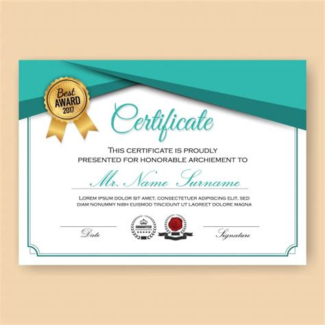 certificate design wallpaper modern verified certificate background template with