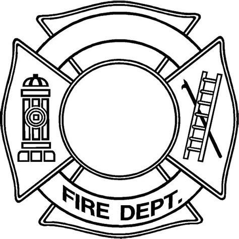 firefighter hat template    clipartmag