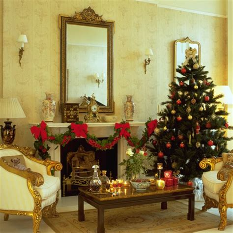 beautifully decorated homes for christmas elegant christmas living room christmas decorating ideas