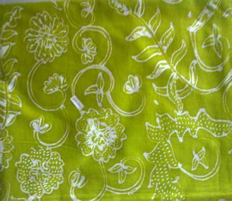 Kain Tulis Warna jual kain batik tulis warna hijau