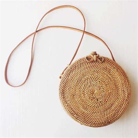 handwoven rattan bag handbags bags