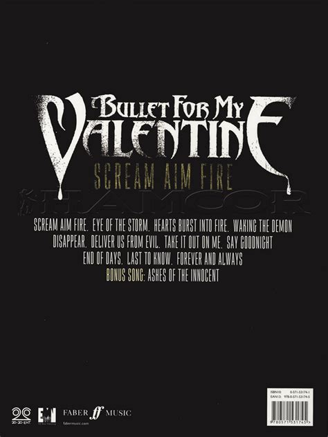 disappear bullet for my bullet for my scream aim guitar tab