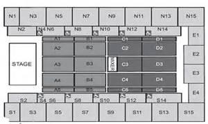 wembley arena seating