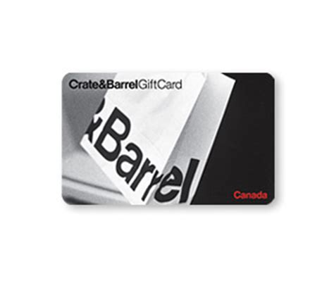 gift card faq crate barrel canada - Crate And Barrel Gift Card Canada