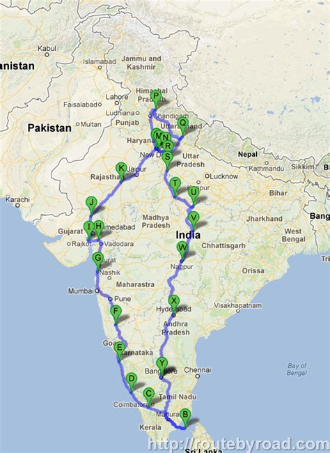 road map india to usa maps india road distance calculator india road trip