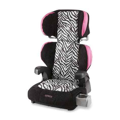 costco car seat cosco pronto booster car seat zebra striped
