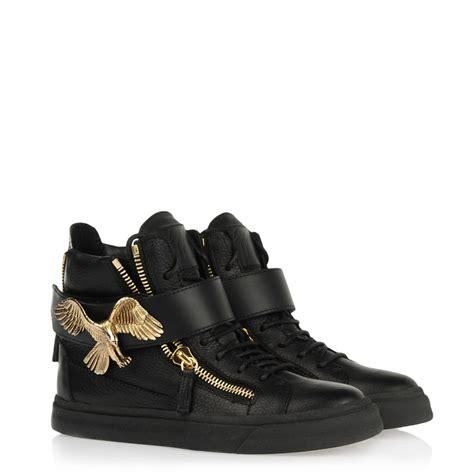 giuseppe zanotti sneakers giuseppe zanotti eagle calfskin sneakers shoes post