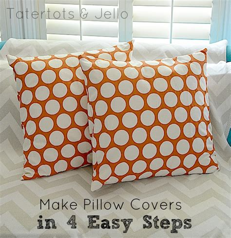 how to make slipcovers for pillows make envelope pillow covers in 4 easy steps