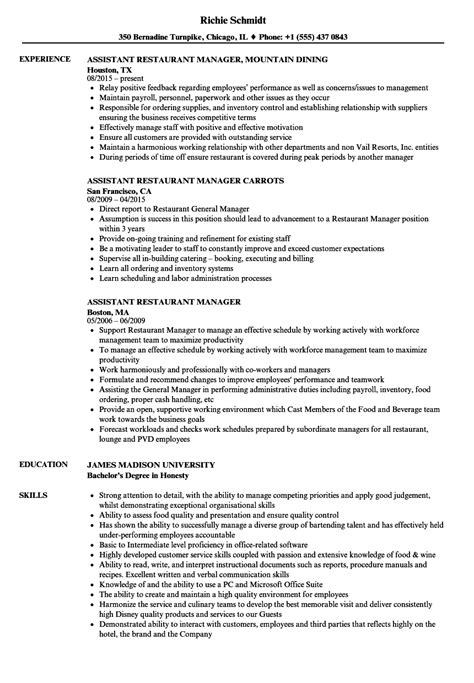 restaurant manager duties templates franklinfire co