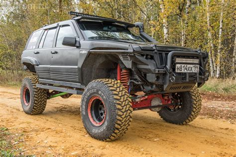 baja jeep grand cherokee тюнинг jeep grand cherokee zj по законам baja 1000 zj