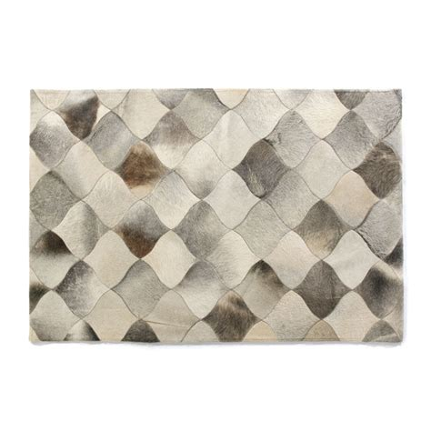 Hide Rugs Modern Leather Hide Rugs Grey Leather Hide Rug