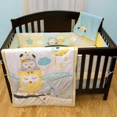 Crib Owl Bedding Crib Fashion Bedding Gt Baby S By Nemcor Naptime Owls 5 Crib Bedding Set From Buy Buy