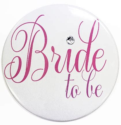 Bar Ware by Bride To Be Button Bachelorette Button The House Of