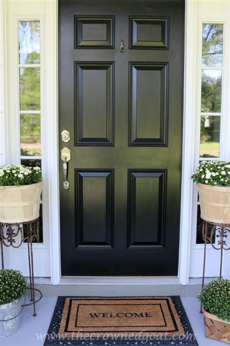 front door paint colours best 20 painting front doors ideas on