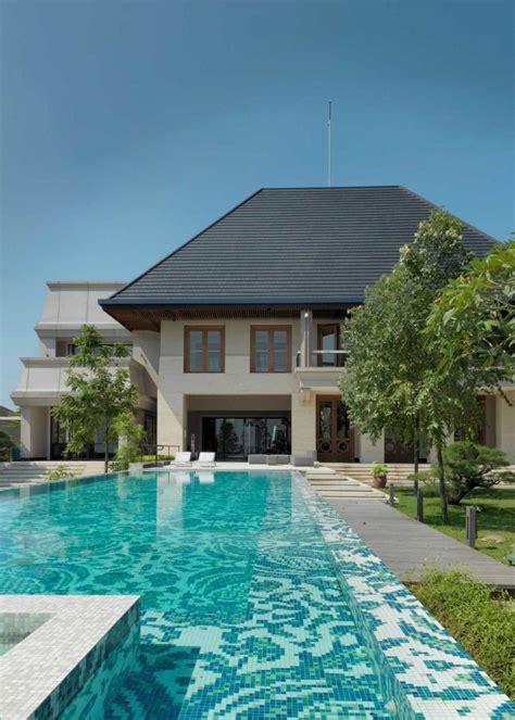 desain rumah yang ada kolam renangnya gambar desain rumah minimalis yang ada kolam renangnya
