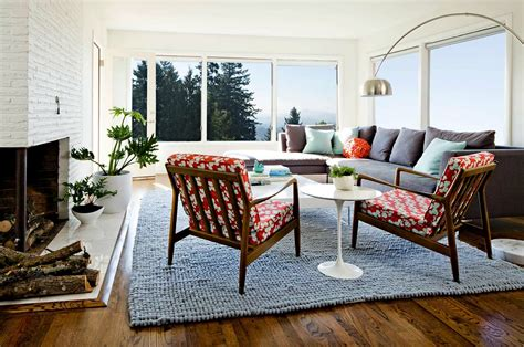 1950s ranch house renovation in oregon offers delightful