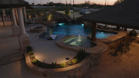 backyard renovation mckinney tx prestige pool and patio
