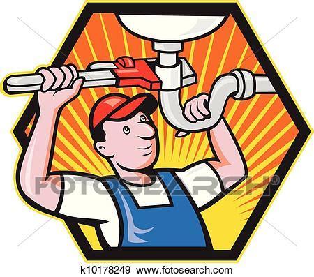 clipart idraulico clip idraulico lavoratore con chiave registrabile