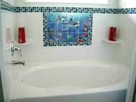 tile stickers for bathroom 35 blue bathroom tile stickers ideas and pictures