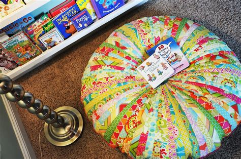 made jelly roll floor pillow living with punks