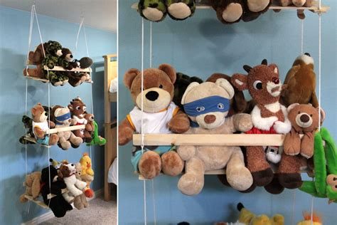 Stuffed Animal Swing Diy Hanging Toy Storage It S