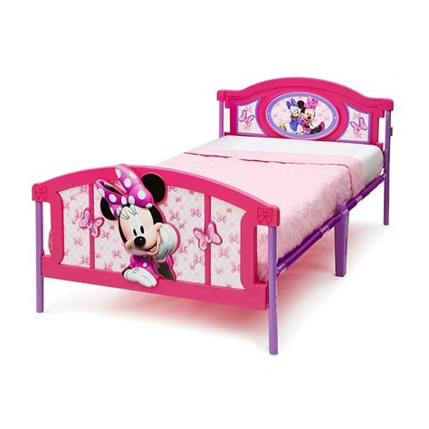 minnie mouse toddler bed frame twin bed frame for kids girls children bedroom furniture