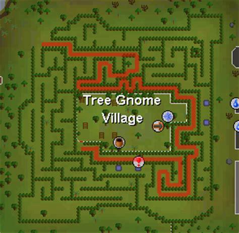 Tree Gnome Village Maze | runeslayer tree gnome village quest guides
