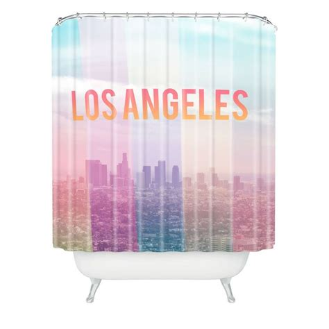 curtains los angeles catherine mcdonald los angeles shower curtain home