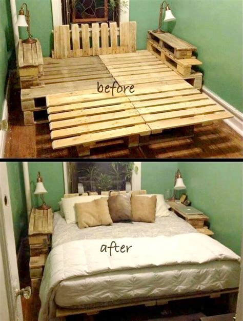 Diy Pallet Ideas You Will Love Wooden Crate Bed Frame