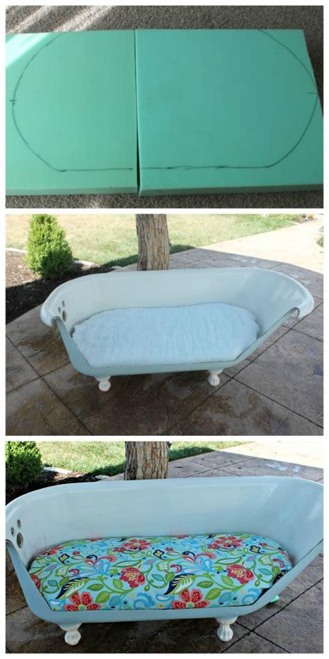 bath tub couch bathtub to sofa tutorial so you think you re crafty