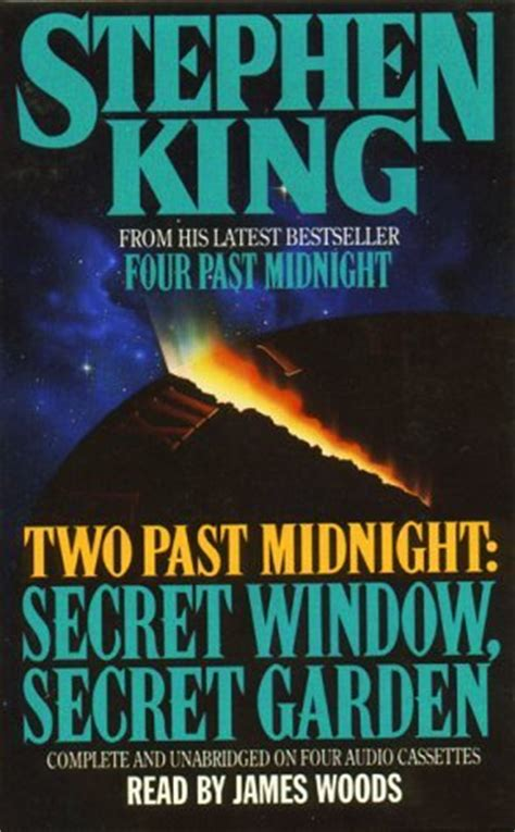 the in the window a novel books two past midnight secret window secret garden by stephen
