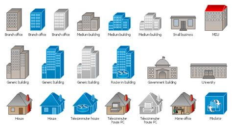 visio building shapes building clipart visio pencil and in color building