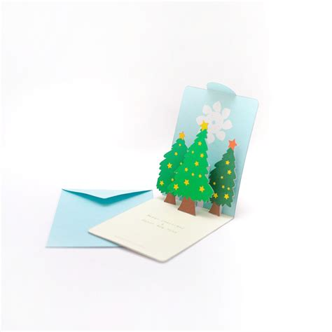 lift me up pop up card template tree pop up card template lights