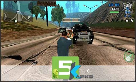 gta 3 mod apk gta 5 v1 08 apk obb data updated offline install free for android 5kapks get your apk free