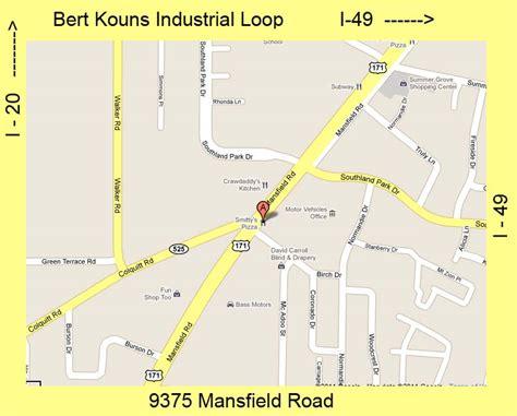 keithville louisiana map shreveport windshield repair